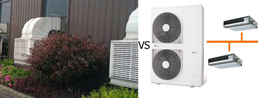 air cooler vs air conditioner, water air cooler vs air conditioner