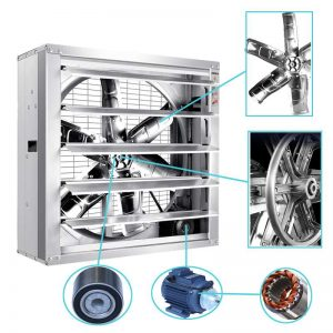 greenhouse fan, ventilation fan, cooling fan direction