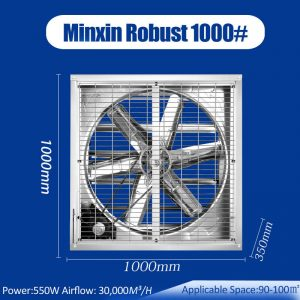 air mover fan, poultry farm fan, 36inch exhaust fan