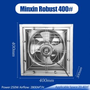 1500CFM Small Exhaust Fan, 16 inch exhaust fan, small ventilation fan