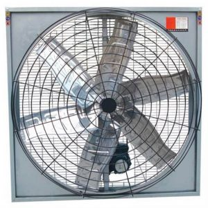 cattle farm exhaust fan, cow house hanging exhaust fan, air circulation exhaust fan