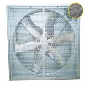 insectproof greenhouse exhaust fan, anti-insect push pull exhaust fan, insectproof greenhouse cooling fan