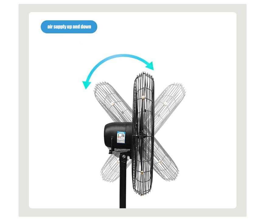 industrial fan, industrial pedestal fan, stand floor fan