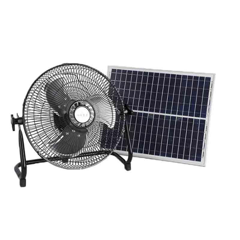 solar floor fan, solar powered fan