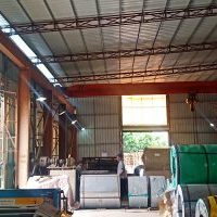 galvanized steel fan housing production